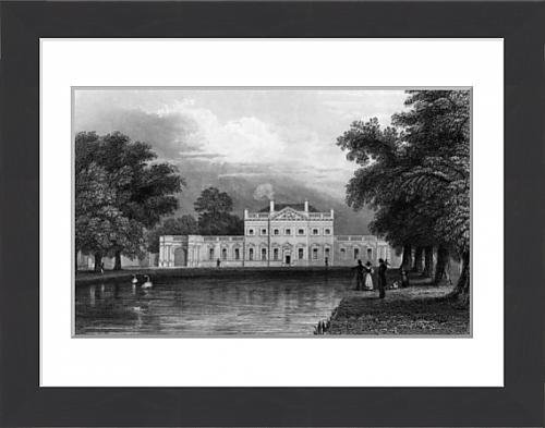 framed-print-of-boreham-house-essex-engraved-by-john-rogers-1831-engraving