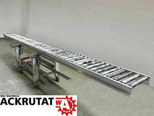 Rollenbahn 6000 mm Rollbahn Rollenförderer Schwerkraft Förderbahn Förderstrecke