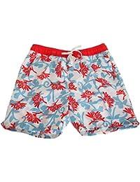 SoulStar Mens Bright Floral Patterned Swim Shorts