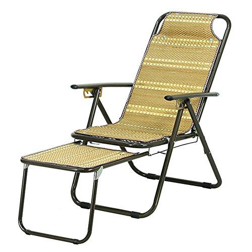 QIDI Chaise Longue Pliante en Métal 88 * 47cm