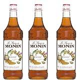Monin Sirup Caramel, 1,0L 3er Pack