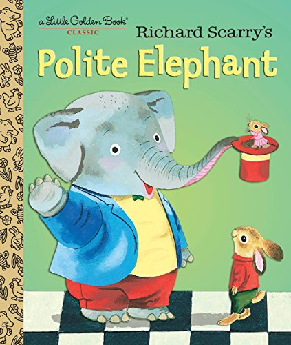 Richard Scarry's Polite Elephant (Little Golden Book) por Richard Scarry