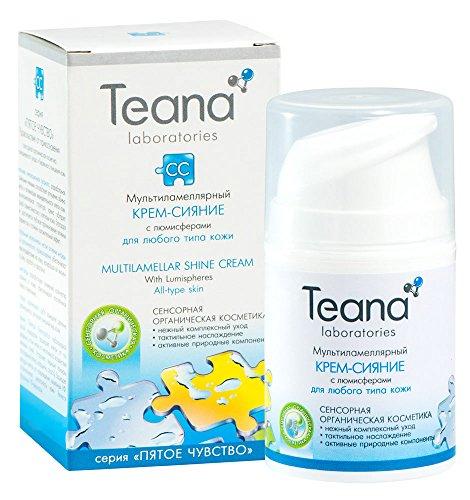 Una crema schiarente ed idratante da Teana - Riduce le