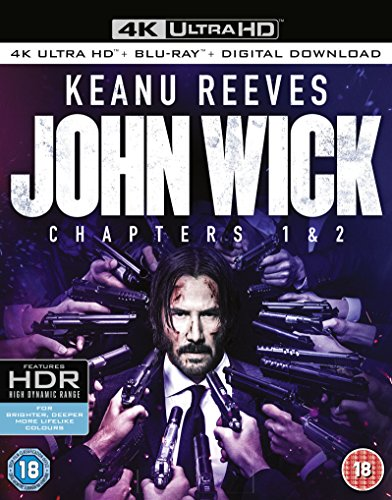 John Wick: Chapters 1 & 2 (4k Ultra HD + Blu-ray) / Import / 4K Box Set