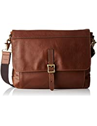 Fossil Herren Defender Business Tasche, Braun (Brown), 6x25x34 cm