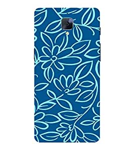 Flowers Wallpaper 3D Hard Polycarbonate Designer Back Case Cover for OnePlus 3 :: OnePlus Three