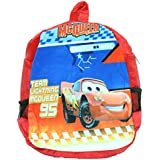 Kabir Kirtika Toys' Mcquenn Red Soft Toy School Bag For Kids, Travelling Bag, Carry Bag, Picnic Bag, Teddy Bag (Red).