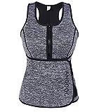 ANGOOL Gilet da Donna Dimagrante Hot Sweat Maglietta Corpo Shaper per la Perdita di Peso Sauna Canottiera Gilet in Neoprene