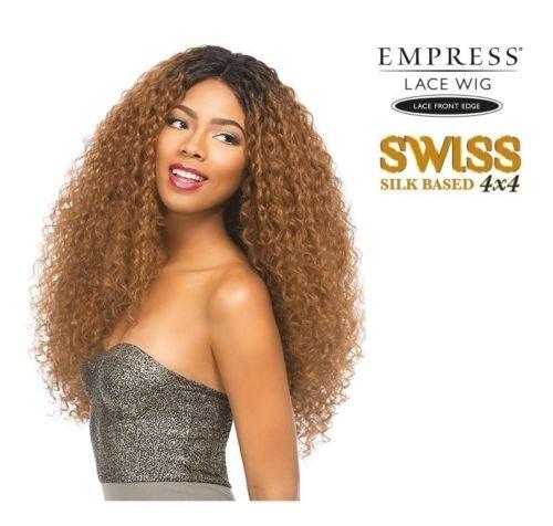 Sensationnel Empress Doré 4 x 4 Soie basé Swiss Lace Front Perruque Kelly –  Col 1B 6d1204f861b