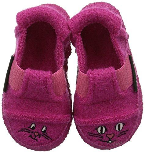 Nanga Mouse & Cat, Pantofole basse bambina, Rosa (Pink (27)), 34 EU (2 Kinder UK)