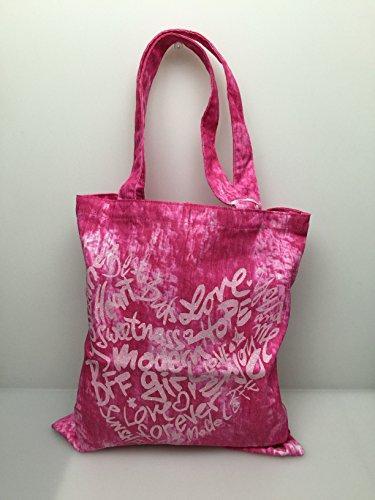 TopModel Shopper 7395 B Schultertasche in Pink Flippi