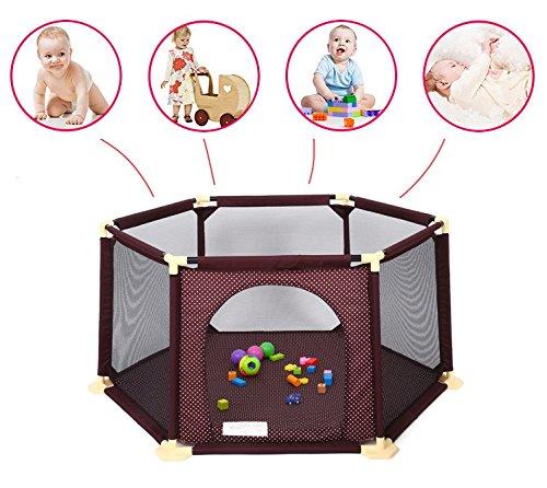 Star Ibaby Oxford Cloth - Parque de bebés ultraligero