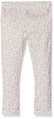 Petit Bateau Baby-Mädchen 43339 Leggings, Mehrfarbig (Marshmallow/Brut/Multico 72), 68 (Herstellergröße: 6M 6 Mois)