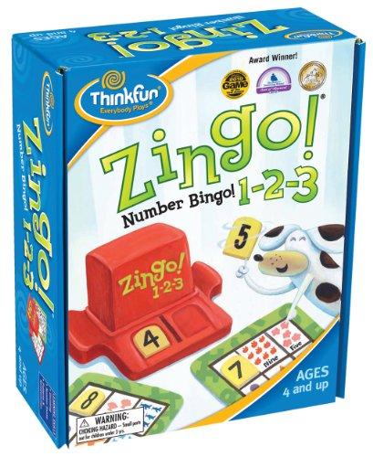 Ravensburger Zingo 1-2-3 (Anleitung auf Englisch)