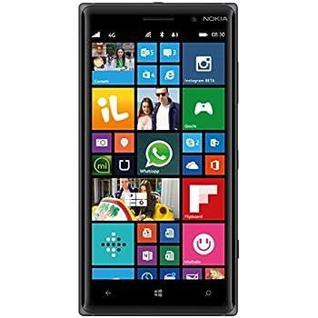 Nokia Lumia 830 Smartphone, 16 GB, Fotocamera da 10 MP, Display da 5'', LTE, Nero