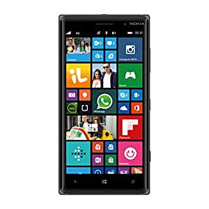 Nokia Lumia 830 Smartphone, 16 GB, Fotocamera da 10 MP, Display da 5'', LTE, Nero