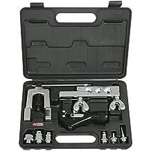Ks Tools 122.1100 Juego De Rebordeadores Y Manguitos Para Tuberías De Climatización Y Aire Acondicionado