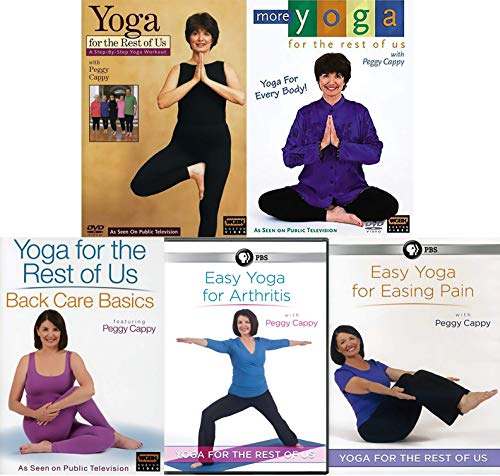 Yoga for the Rest of Us with Peggy Cappy: Easy Exercise for Arthritis and Easing Pain DVD Collection