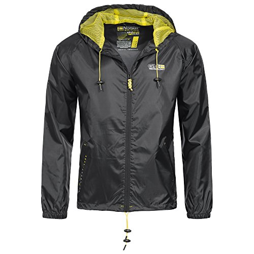 82C1 Geographical Norway Nijak Herren Regen Jacke