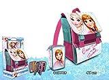 Disney Frozen–Zaino italiana con astuccio triplo, Kids Euroswan fr17131