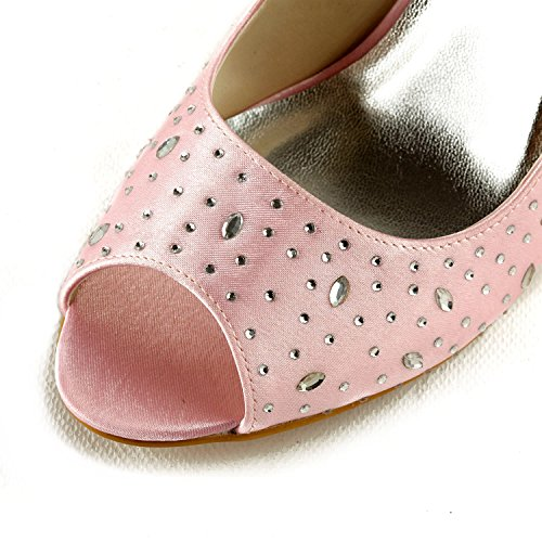 Le Di Colore Donne Centimetri Rosa Minitoo Sandali Tacco Per nove Ew1CxpZq