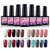Saint-Acior UV Gel Nagellack Gellack Set 20 Farben Gelnägel UV Set(20x8ml)