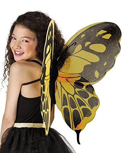 erdbeerclown- Fee Flügel Schmetterling Kostüm, (Halloween Kostüm Moderne Cinderella)