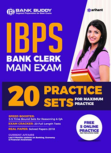 20 Practice Sets IBPS Bank Clerk Main Exam 2019