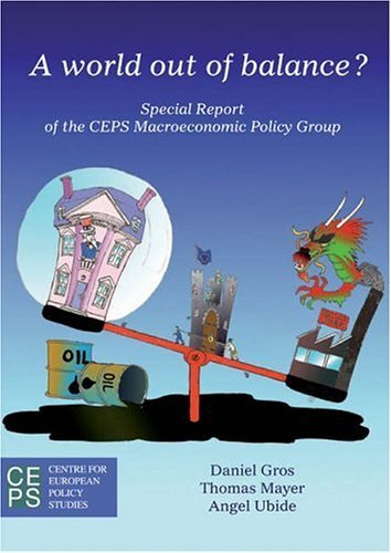 Portada del libro A World Out of Balance?: Special Report of the CEPS Macroeconomic Policy Group by Daniel Gros (2006-08-24)