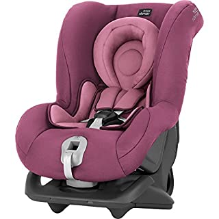 Britax Römer First Class Plus, Autositz Gruppe 0+/1 (Geburt -18 kg), Kollektion 2019, wine rose