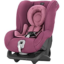 Britax Römer First Class Plus, Silla de coche grupo 0+/1, rosa (Wine Rose)