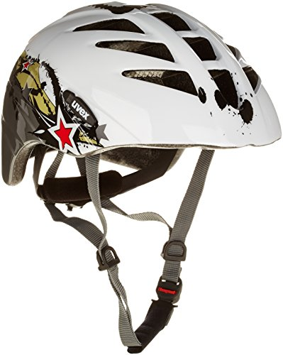 Uvex Kinder Fahrradhelm Junior, splash anthracite, 52-57 cm