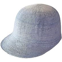 Gorra de Bisbol Paja Verano para Nios Nias Sombrero de Sol Gorra Ecuestre-Multicolor