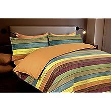 Funda nórdica estampada Rayas PARKET (Para cama de 90x190/200 (Nórdico de 150))