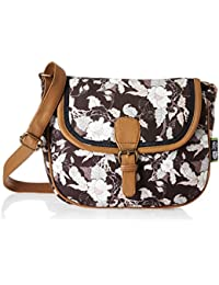 Kanvas Katha Selena Digital Women's Sling Bag (Brown) (KKSELDP005)
