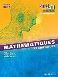 Sigma Mathématiques Tle Bac STI2D - STL
