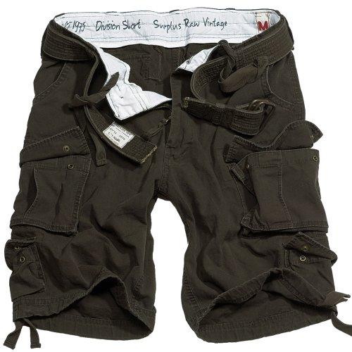 Trooper Division Shorts Braun
