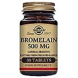 Best Bromelains - Solgar Bromelain 500 mg Tablets, 30 Tabs 500 Review