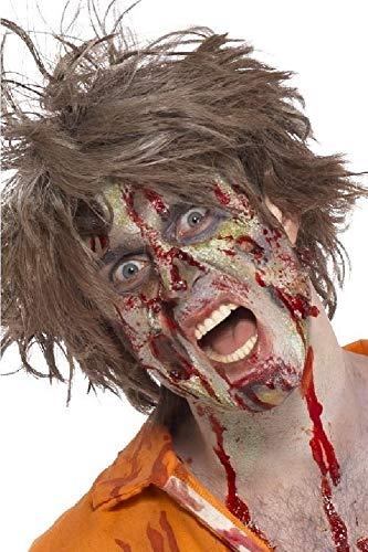 shoperama Professionelles 12-Teiliges Schminkset Zombie Make-up Schminke FX Untoter Halloween Horror Karneval Fasching