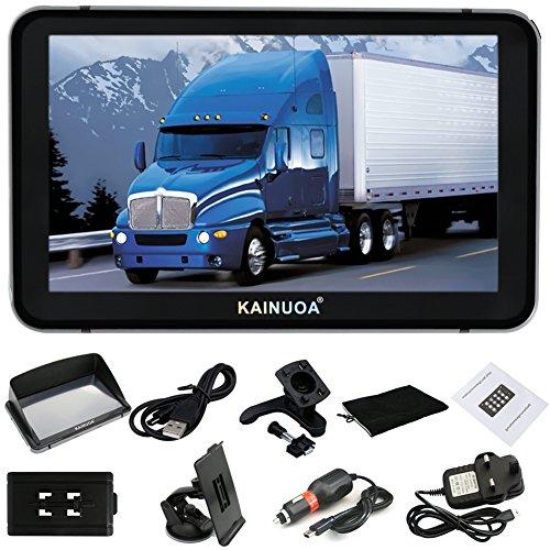 Kainuoa® 7 Zoll 8GB  Europe Traffic GPS Navi Navigationsgerät Navigationssystem Lebenslages Kostenloses Kartenupdate