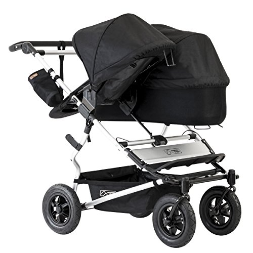 Mountain Buggy Evolution Duet Flint inkl. Regenschutz - 8