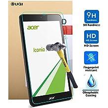 Acer Iconia One 7 B1-780 Protector de pantalla, KuGi ® Acer Iconia One 7 B1-780 Protector de pantalla- Protector de pantalla de alta calidad de la dureza 9H HD clara de cristal templado para Acer Iconia One 7 B1-780 Tablet