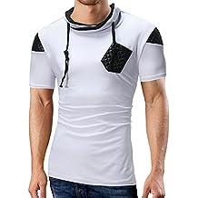Camisetas Hombre Originales,Camiseta Hombres Pullover Naturazy Hombres Camisetas Tops Blusa Blusa Ligera Camisetas Short