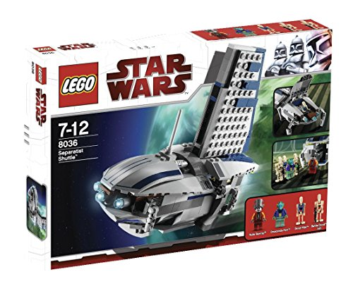 Lego-schiffe Star Wars (LEGO Star Wars 8036 - Separatists Shuttle)