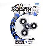 YoYo Factory Fidget Ninja Spinner Métalliques - ARGENTÉ