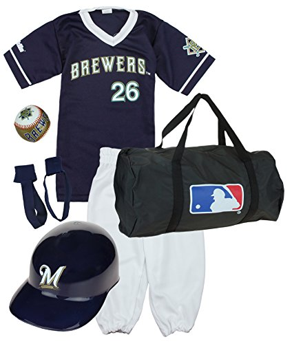 franklin-milwaukee-brewers-baseball-youth-uniform-set-ages-7-10-kids-medium-ages-7-to-10