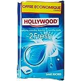 Hollywood Dragées Chewing-Gum sans Sucres Menthe Fraîche/Menthe Forte Le Lot 3 Paquets x 22G 2 Fresh