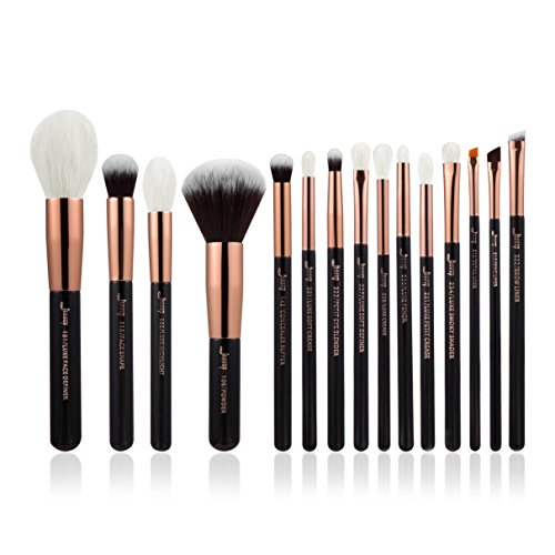 Jessup Marke Beauty 15 Foundation Make-up Pinsel Kit Face Power Highlight Lidschatten Faser Haar...