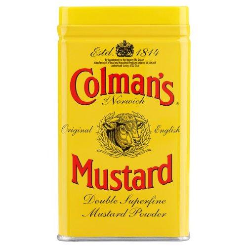 Colmans ursprüngliche englische Senf Doppelsuperfine Pulver 113g -