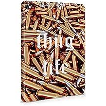 Thug Life Military Ammunition Weapons Golden Bullets Custodia Posteriore Sottile In Plastica Rigida Cover Per iPad Mini 4 Slim Fit Hard Case Cover